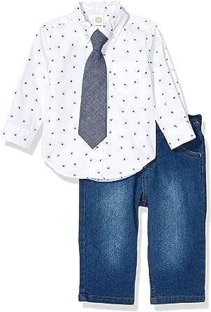 Little Me Baby-Boys LPB08548I Woven Pant Sets Pants Set - Blue