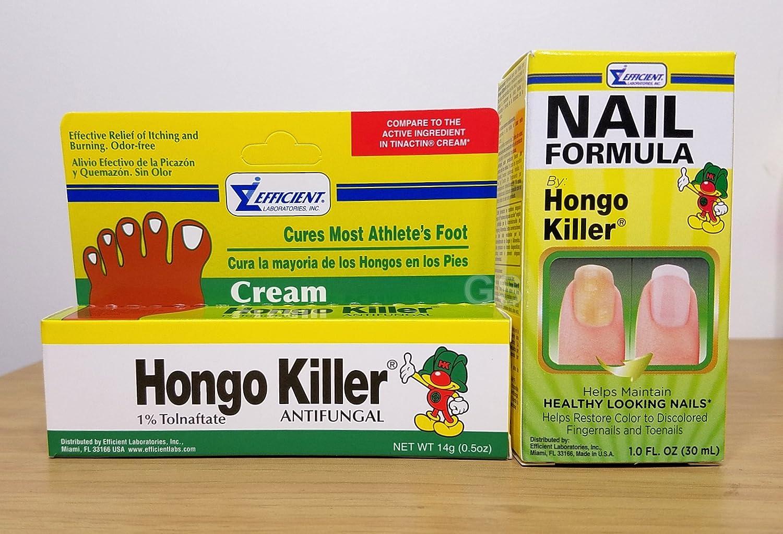 Amazon.com: Hongo Killer Nail Formula Combo (2 Pack).. 080585090197 ...