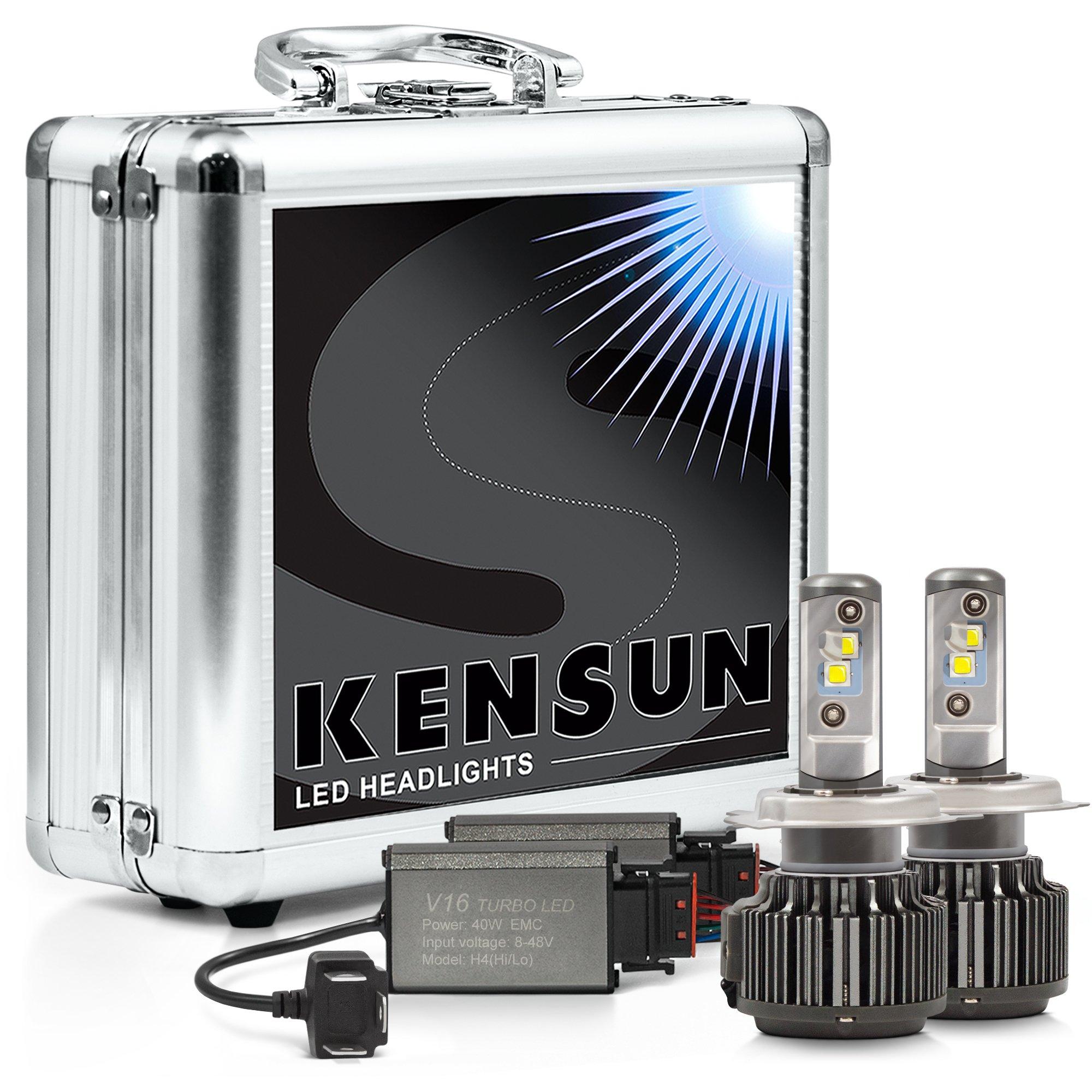 Kensun Super Bright Extreme Cree LED Headlight Conversion Kit