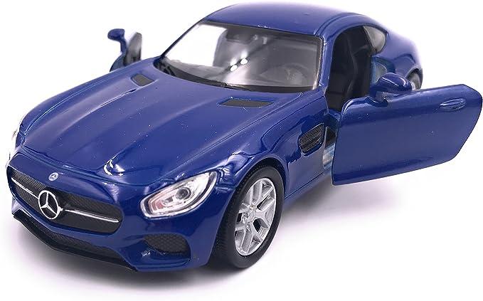 Welly Mercedes Amg Gt Modellauto Auto Lizenzprodukt 1 34 1 39 Blau Auto