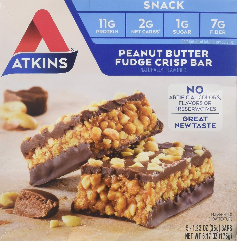 ATKINS Day Break BAR,P/BTR Crisp, 5/1.2 OZ