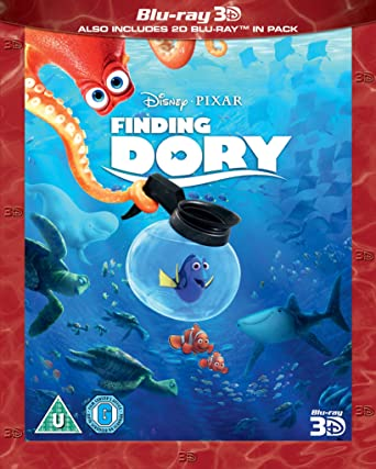 2913653099c Finding Dory  Blu-ray 3D   2017   Amazon.co.uk  Ellen DeGeneres ...