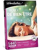 Wonderbox – Coffret cadeau Femme BULLE DE BIEN ETRE – 5440 massages californiens, soins du visage, modelage thaïlandais, gommage du corps aux pétales de fleurs, hammam, bain aux huiles essentielles pour 1 à 2 personnes