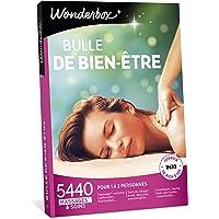 Wonderbox – Coffret cadeau Femme - BULLE DE BIEN ETRE – 5440 massages californiens, soins du visage, modelage thaïlandais, gommage du corps, hammam, bain aux huiles pour 1 à 2 personnes