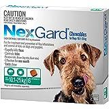Nexgard, Flea & Tick Monthly Chew, Dog, 10.1-25kg, 6pk
