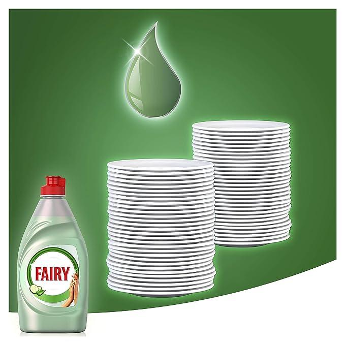 Fairy Limpieza & Cuidado, Aloe Vera & Pepino - Líquido para ...