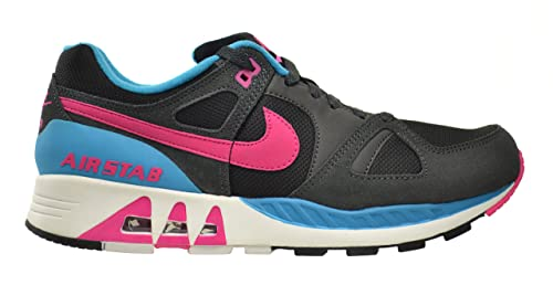 d2c572e81bea Nike Air Stab Men s Shoes Black Hot Pink-Anthracite-Blue Lagoon 312451-