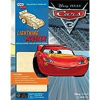 IncrediBuilds: Disney Pixar Cars 3: Lightning McQueen Deluxe Book and Model Set