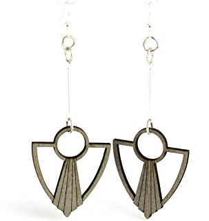 product image for Art Deco Anchor Fan Earrings