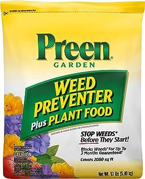 Preen Garden Weed Preventer Dandelion Killer