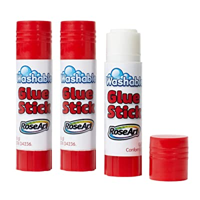 RoseArt 3ct Glue Sticks: Office Products