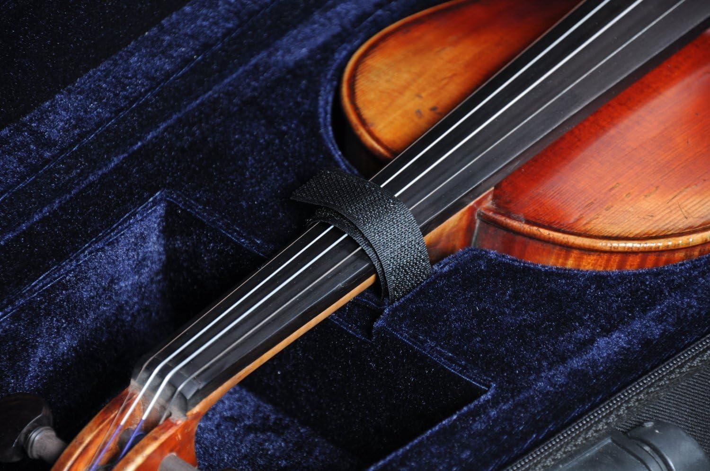 Violin Case - Estuche para violín (4/4, tamaño completo, forma triangular, estuche rígido: Amazon.es: Instrumentos musicales