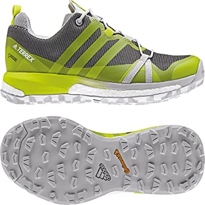 adidas Terrex Agravic GTX W, Chaussures de Randonnée Basses Femme, Gris