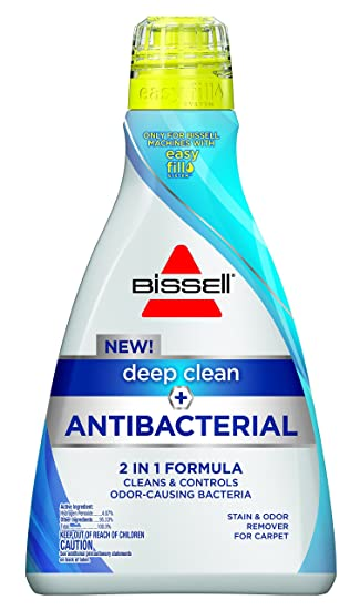 BISSELL Deep Clean + Antibacterial Full Size Carpet Cleaning Formula, 1568  (40oz)