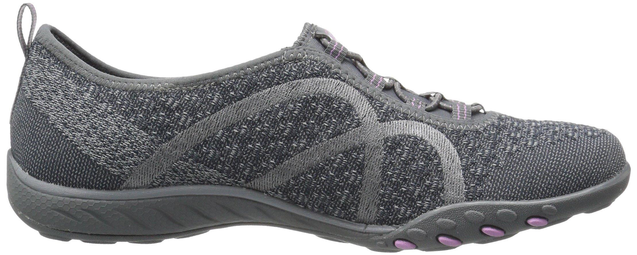 Skechers Sport Women's Breathe Easy Fortune Fashion Sneaker,Charcoal Knit,5 M US by Skechers (Image #7)
