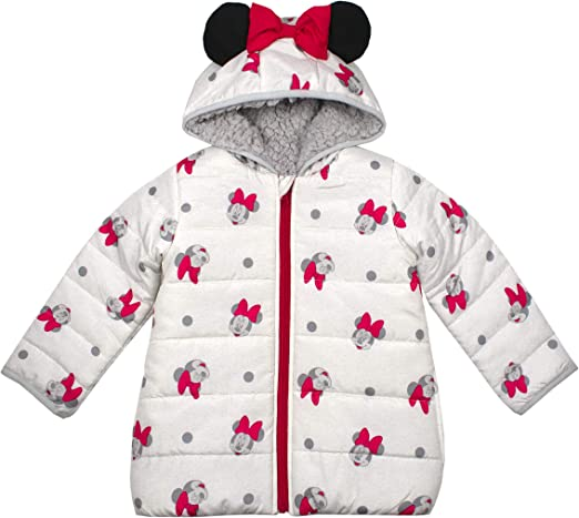 Toddler Kids Baby Girl Boys Mickey Minnie Mouse Hoodie Coat Jacket Outwear Tops