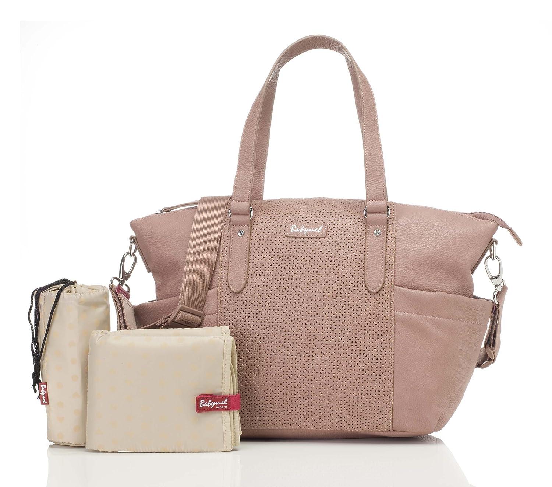 Babymel Anya Diaper Shoulder Bag, Dusty Pink, One size