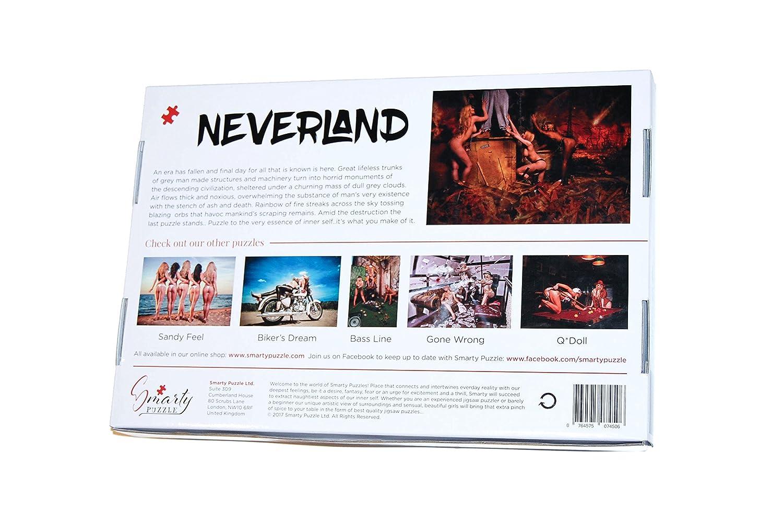 NeverLand - 1000 pieces Erotic Jigsaw Puzzle: Smarty Puzzle: Amazon.co.uk:  Toys & Games