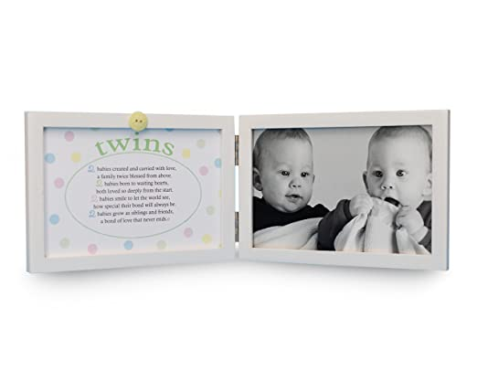 Amazon.com : The Grandparent Gift Co. Sweet Something Frame, Twins ...