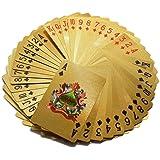 Magicwand 24 Karat Gold Plated Poker Playing Cards