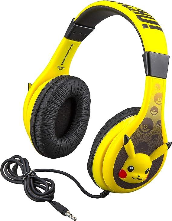 Pokemon Pikachu Kids Headphones