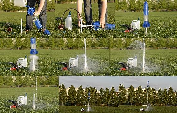 Botella Aire/Agua Lanzador de cohetes. H-base + r-trigger Kit. Envío Más Bajos.: Amazon.es: Deportes y aire libre