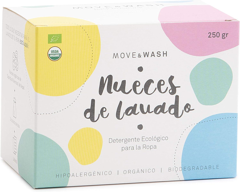 Move & Wash 250 gr Nueces de lavado - Certificación EU Organic y ...