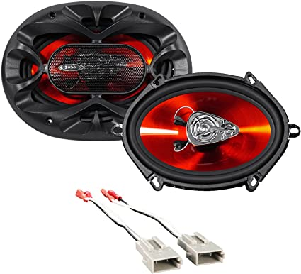 """Boss 5x7/"""" Rear Factory Speaker Replacement Kit For 2004-2006 Ford F-150"""