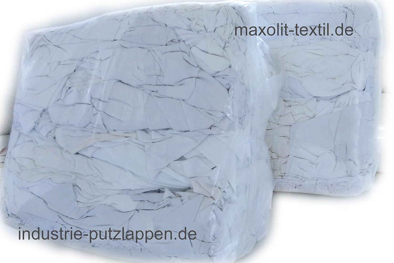 1kg=1,20€ Putzlappen aus Baumwolle 25 kg Putztücher für Werkstatt Sack Tücher