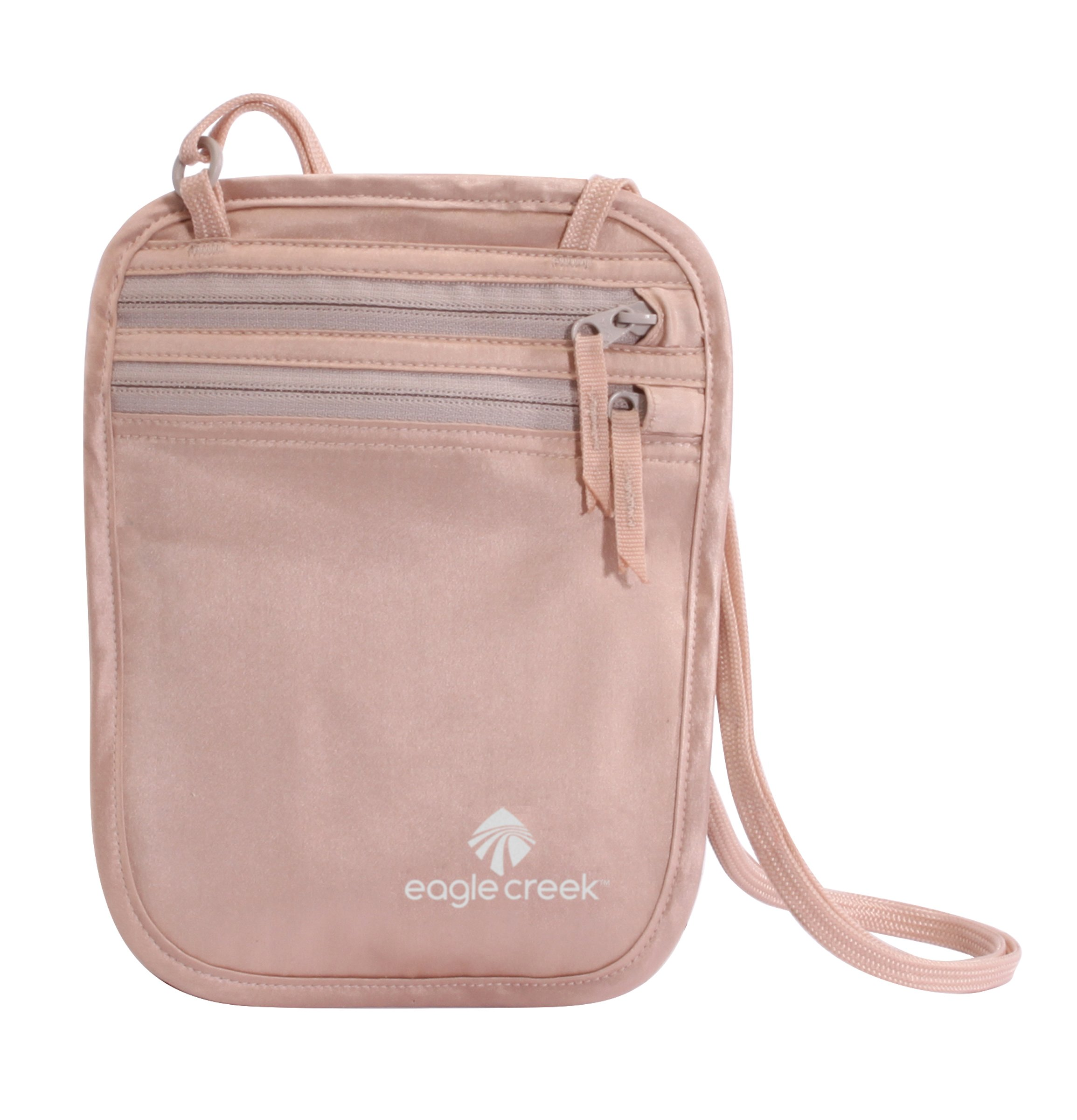 EAGLE CREEK TRAVEL GEAR Undercover Silk Neck Wallet, Rose