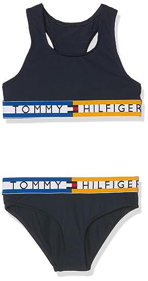 8b503cde42501 Tommy Hilfiger Girl s Bralette Bikini Set Swimwear