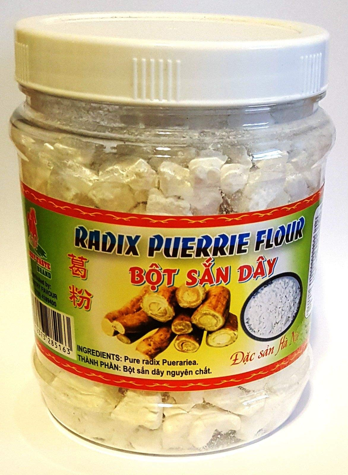 Arrowroot Starch Powder Bot San Day Radix Puerrie Flour 14 oz - Pack of 1