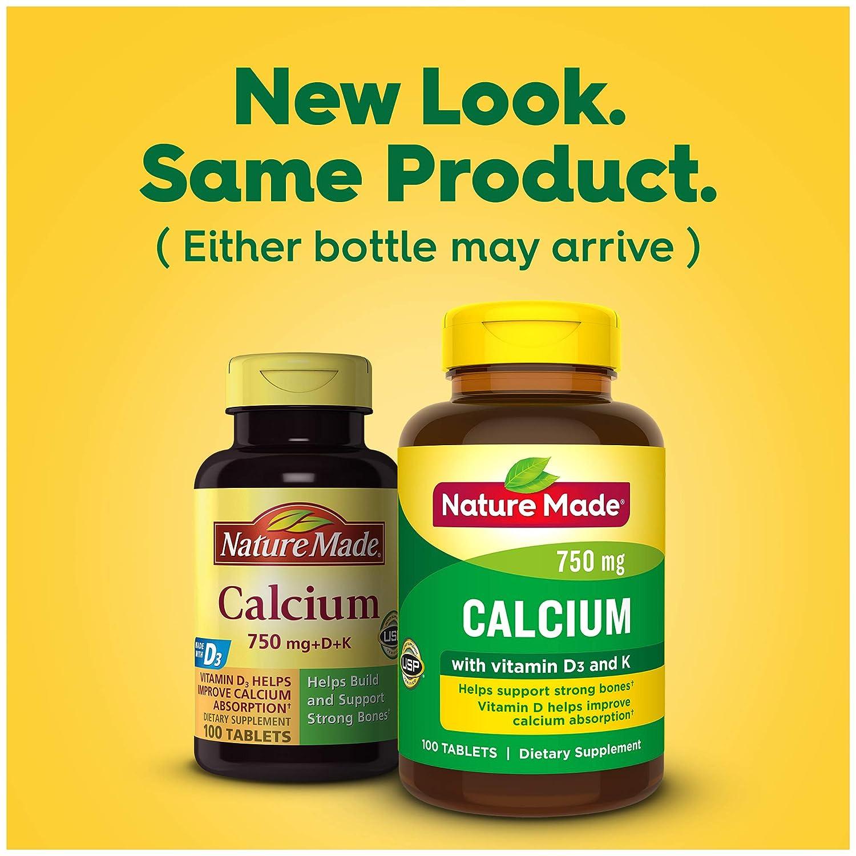 Amazon.com: Nature Made (Carbonato de calcio) 750 mg W ...