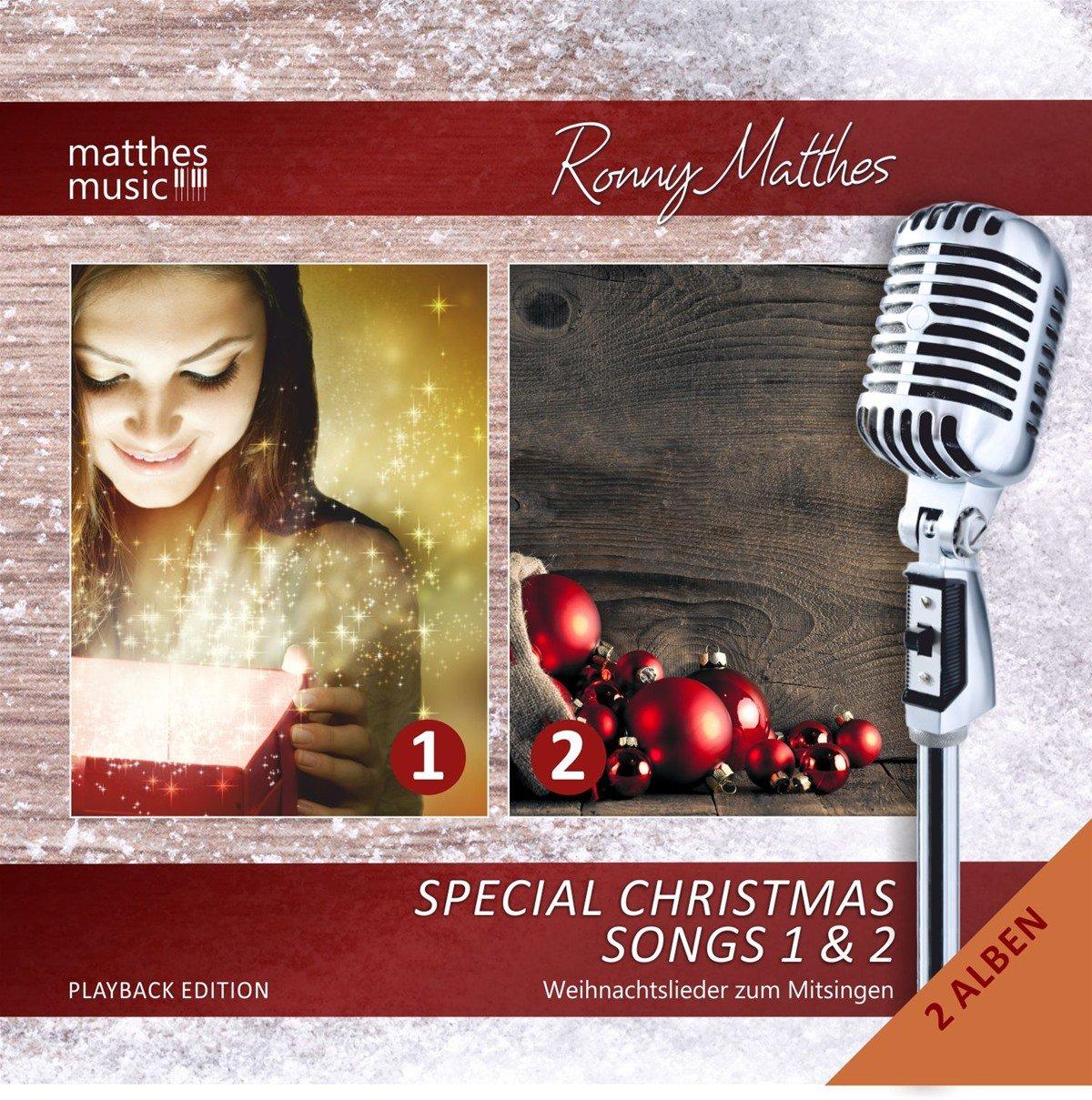 Special Christmas Songs (Vol. 1 & 2) - GEMA-freie Playback/Karaoke ...