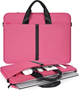 15.6 Inch Laptop Briefcase for Women Men Handbag for HP Envy/Pavilion 15.6, Dell Inspiron 15 3000 5000, Lenovo Yoga 720730 15.6, ASUS Chromebook 15.6, Acer Samsung Chromebook 15.6