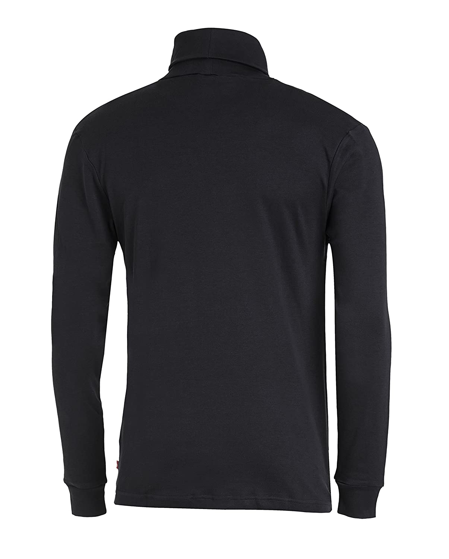 Medico Camiseta de esqu/í de manga larga de 100 /% algod/ón cuello alto para hombre