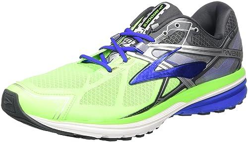 Brooks Men's Ravenna 7 Running Shoes, Green (Green Gecko/Electric Blue/ Anthracite