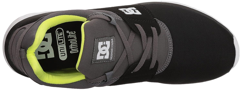 DC Men's Heathrow Casual Skate Shoe B07591CHZX 14 D D US Black/Battleship/Lime