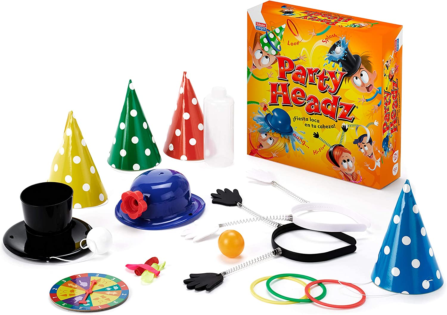 Falomir Party Headz, Juego de Mesa, Habilidad, Color Amarillo ...