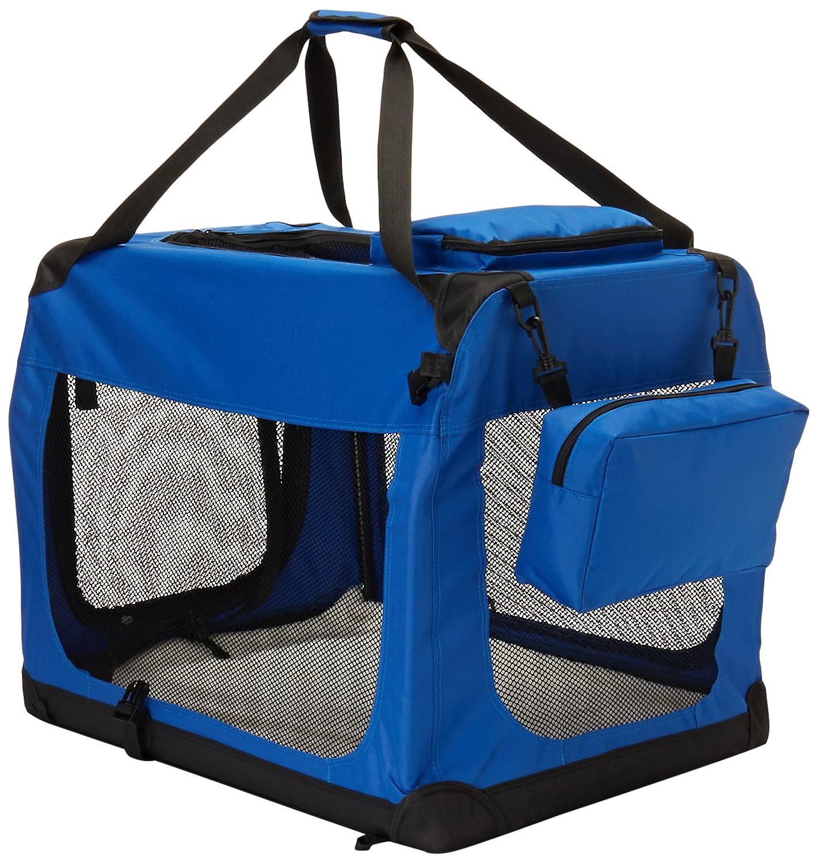Go Pet Club Soft Dog Crate, 28-Inch, bluee