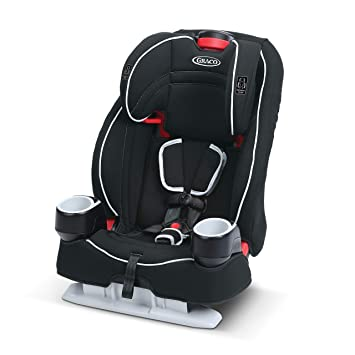 5 Point Harness Booster >> Graco Atlas 65 2 In 1 Harness Booster Car Seat Glacier