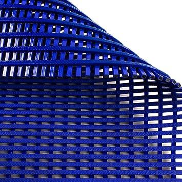 Blau Gr/ö/ße 120 x 500 cm viele Gr/ö/ßen Hygienematte Anti-Slip f/ür Nassbereiche wie Schwimmb/äder Duschr/äume Sauna stark rutschhemmend