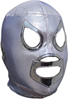 Deportes Martinez El Santo Professional Lucha Libre Mask Adult Luchador Mask Silver