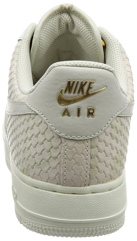 finest selection 316df d6d1c Nike Uomo, Air Force 1 07 LV8, Pelle, Sneakers, Bianco, 44.5 EU  Amazon.it   Scarpe e borse