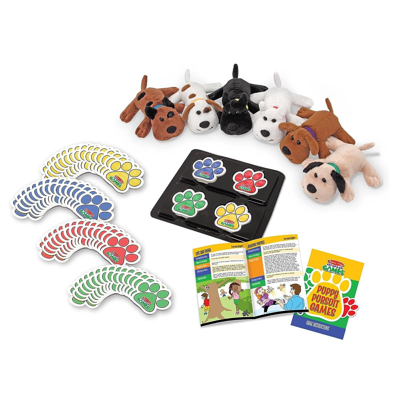 Amazon Melissa Doug Puppy Pursuit Gamesdoggy Detectives Game