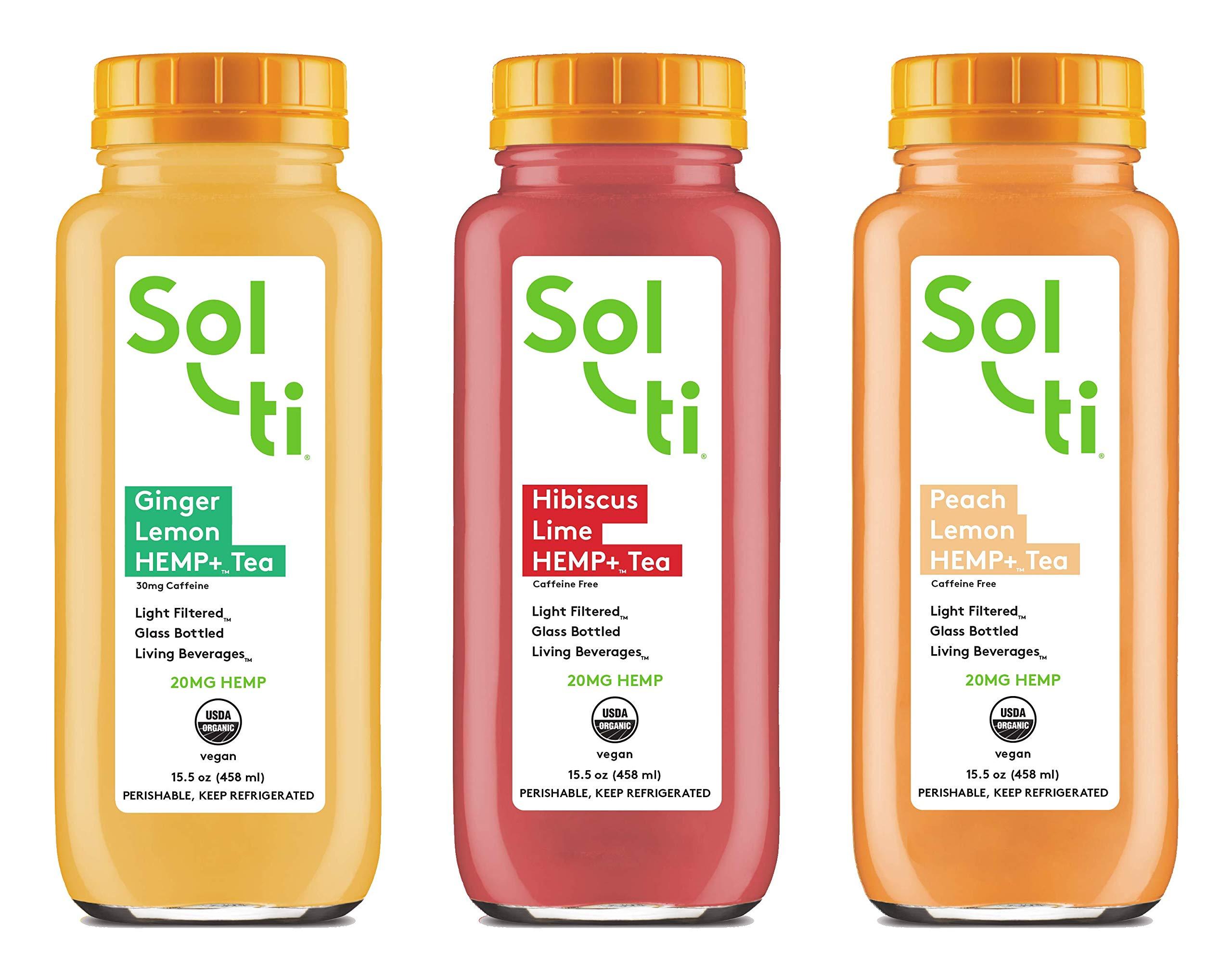 Sol-ti HEMP+ Tea Variety Pack