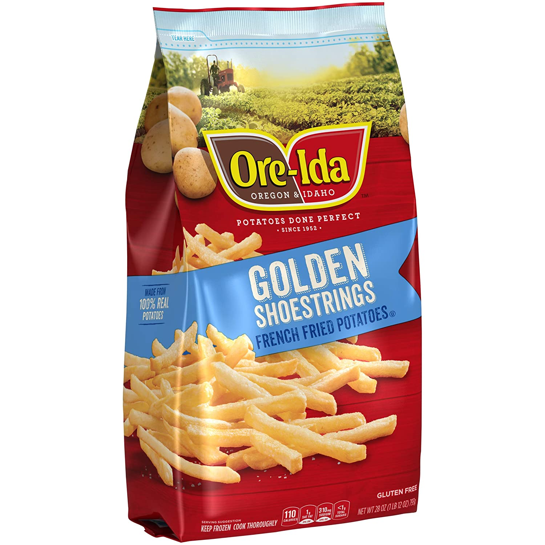 Ore,Ida, Shoestring Fries, 28 oz (Frozen)