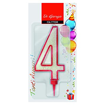 Cereria de Giorgio 58170 _ 64 vela de cumpleaños gigante con ...