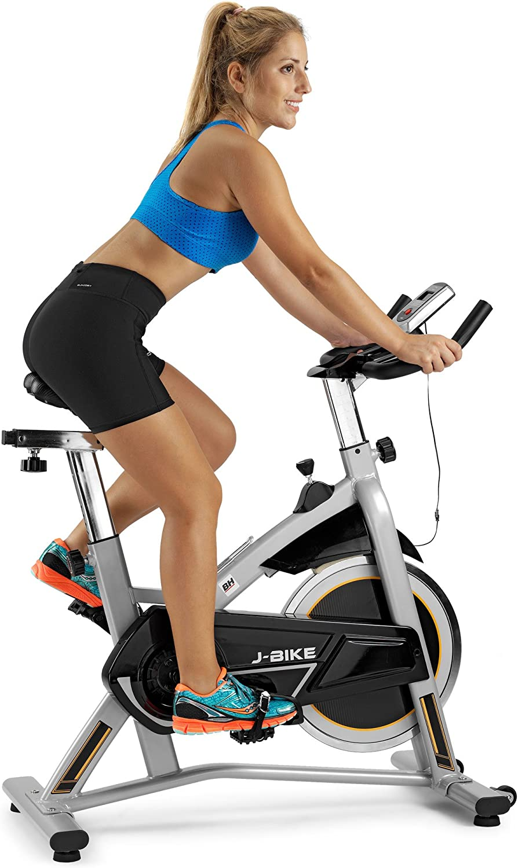 BH Fitness J-Bike H9135RF - Bicicleta Ciclismo Indoor - 18 Kg Volante inercia - Ideal para iniciación: Amazon.es: Deportes y aire libre