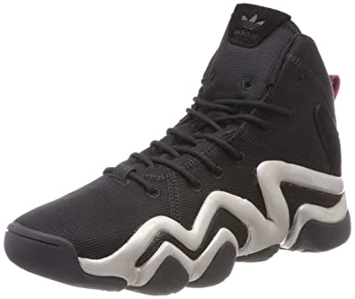 check out 5acf3 26e26 adidas Crazy 8 ADV, Sneakers Basses Femme, Noir Core BlackPlatin Metallic 0